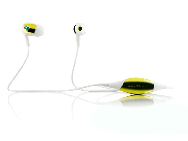 Sony Ericsson Motion Activated Headphones MH907