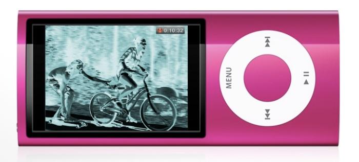 iPod Nano w Wersji Bardzo Różowej