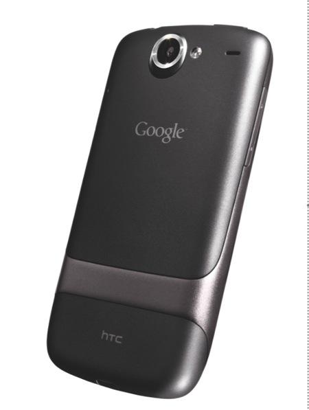 Nexus One - z tyłu