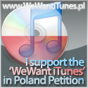 We Want iTunes Store in Poland